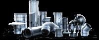 Enoslojni dimovodni elementi iz nerjaveče pločevine